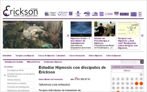 Instituto ERICKSON MADRID http://www.institutoericksonmadrid.com