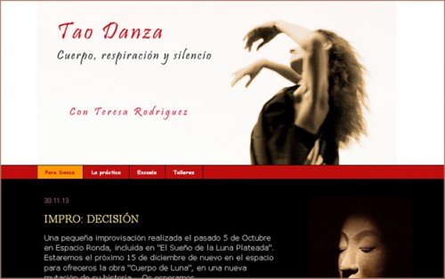TAO DANZA – Teresa Rodríguez danza-tao.blogspot.com.es http://taodanza.com
