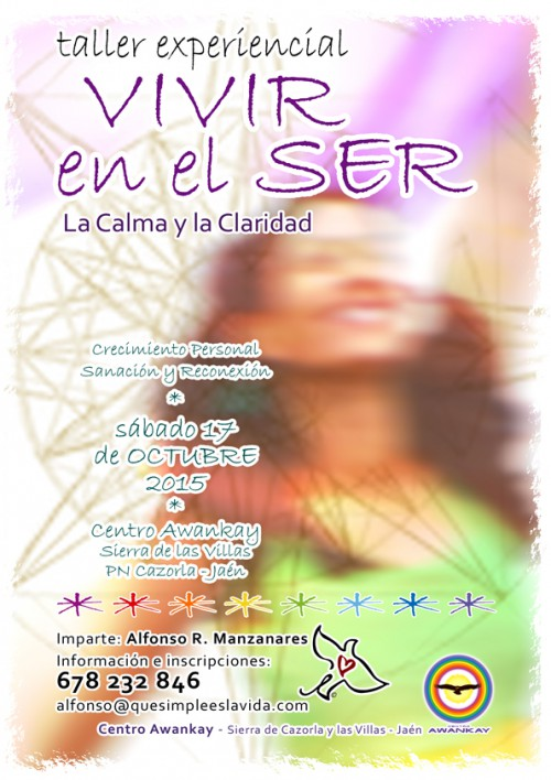 Cartel VivirSer 17 oct 2015 web